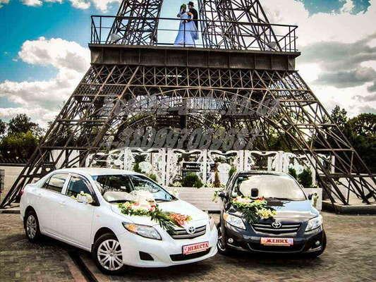 Аренда авто эконом класса на свадьбу