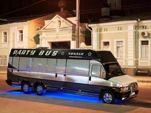 заказ автобуса на ночную развозку гостей из ресторана