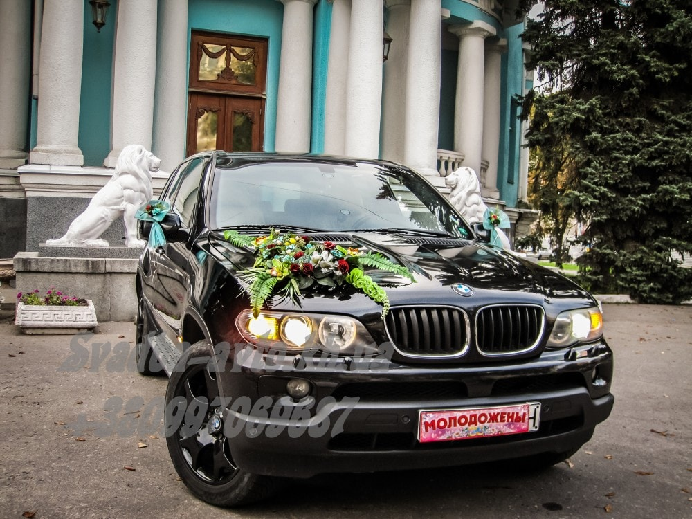 Заказать джип на свадьбу